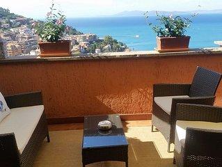 Appartamento di pregio con terrazzo con bellissima vista sul mare