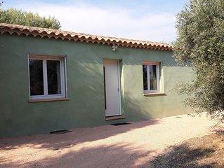 Villa tout confort au ceour du vignoble Bandolais avec acces prive, parking
