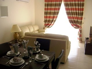 Nissi Elena A15 Top floor apartment with seaviews and large balcony....