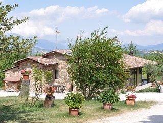 Casalotto Francescano direttamente sul sentiero di San Francesco, intera casa