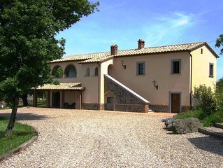 LaPorcilaia Holiday heaven in the heart of Italy Large sunny  breathtaking views