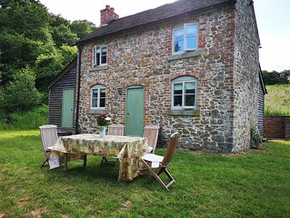 Two bedroom stone cottage in isolated location, set amidst beautiful countryside