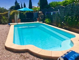 Private Swimming Pool  3 beds 2 baths Nr Carcassonne