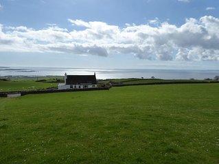 House with sea views near Gatehouse of Fleet