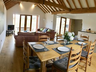 Meadow Cottage, a  refurbished cottage on a grade 2* listed farm