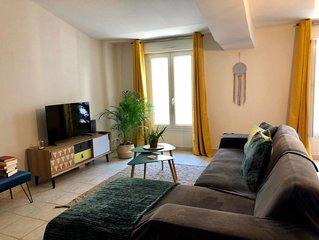 Maison grand confort classée en meublé de tourisme 4* au cœur de Marseillan.