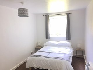 Ground floor flat with amenities