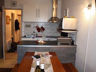 appartement la rosière 5 p tt confort rénové entièrement centre station