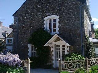 Maison de pêcheur rénovée dans un hameau le long du Frémur