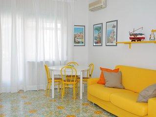 La Barchetta intero appartamento a Maiori ideale per famiglie, 1 minuto dal mare