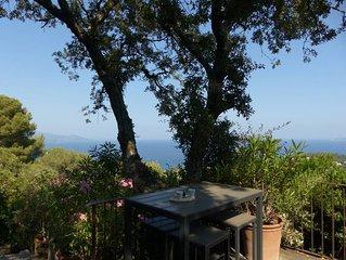 Gaou Benat Villa Cabassou 3 chambres vue mer exceptionnelle !