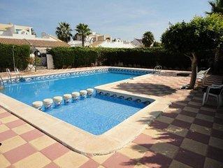 Large Villa With Patio, private pool, Air Con, wifi Satellite TV, BBQ.