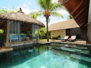 Villa Oasis 5 pour 2 personnes avec piscine et jardin privatif hors des regards