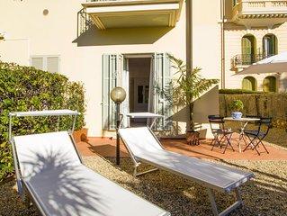 Il Mirabello , appartamento con giardino privato. Vicino al centro e al mare.