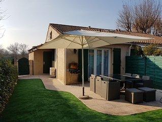 Maison dans résidence sécurisée avec piscine, tennis...