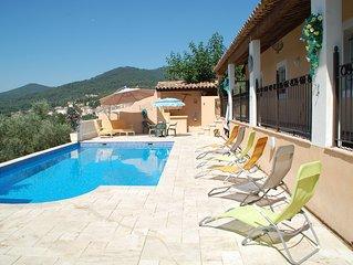 Appartement independant dans maison avec piscine