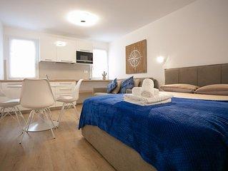 Delightful, luminous apartment in the historical part of Chioggia