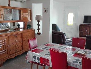 Belle villa lumineuse, tout confort, à Canet-Plage