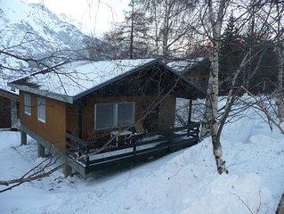 Vrijstaand chalet aan de piste en bij het dorp, voor wintersport & zomervakantie
