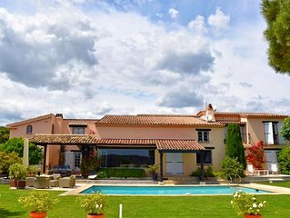 Beautiful Provencal House a few steps from the Pampelonne Beach