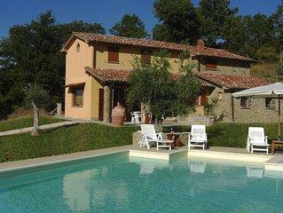 Casa Vacanza Col di Fabbri 8 persone, 4 Camere da letto, Piscina privata