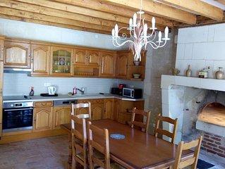 'La boulange' ancienne maison de vignerons avec son four à pain