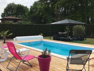 Maison Lège cap Ferret avec piscine chauffée