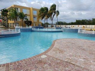 Condominio playa del Caribe- combate y playa sucia