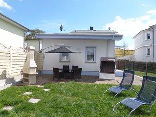 Ferienhaus ruhig u. zentral in Zinnowitz auf abgeschl. Grundst. mit Haustier