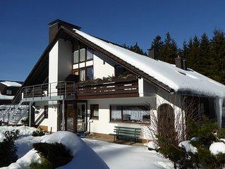 Gemutliche Ferienwohnung fur 2 - 3 Personen im Erdgeschoss, inkl. WLAN und Sauna