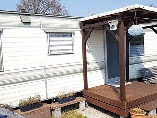Gemutliches Mobilheim auf dem 4* Park de Brem in Renesse