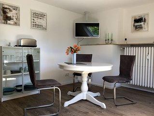 Modernes, ruhiges Nichtraucher-Apartment in Bilk, komfortabel eingerichtet