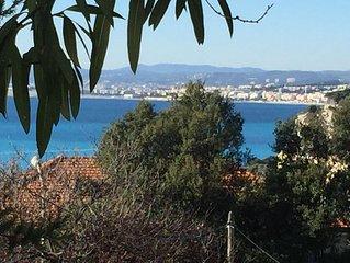 Traumhaft schön - 2-Zi-Wohnung in Nizza ruhig gelegen, 15min zu Fuß zum Meer