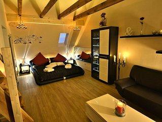 Ferien Wohnung / Firmen Wohnung    Luxus Apartment auf 71 qm offener Wohnflache