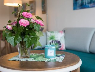 Helle Wohnung in See- & Stadtnähe mit kleinem Balkon