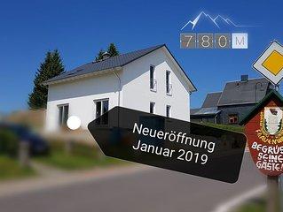 Neueröffnung! Ferienhaus Victoria - mit Kamin in Frauenwald am Rennsteig