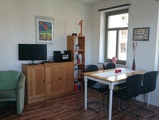 moblierte Wohnung / Ferienwohnung in der Freiberger Altstadt
