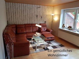 Ferienwohnung Auszeit, Komfort-Ferienwohnung Aurich, Ostfriesland