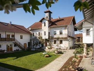 Sehr ruhig gelegene Ferienwohnung auf einem idyllische gelegenen Hof