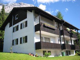 schöne Fewo für 2-4 Personen mit herrlichem Bergblick und Balkon