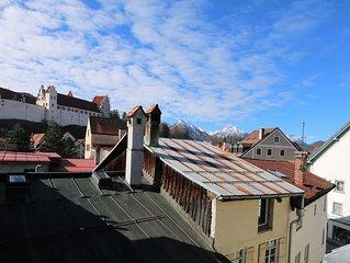Moderne hochwertige eingerichtet FW in zentraler Lage der Altstadt von Fussen