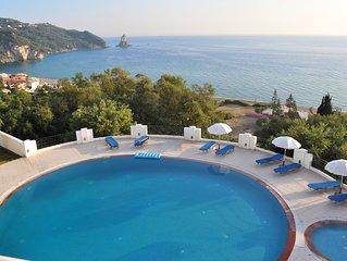"""Korfu Ferienhaus mit Pool  """"Maria"""" am Agios Gordios Strand"""