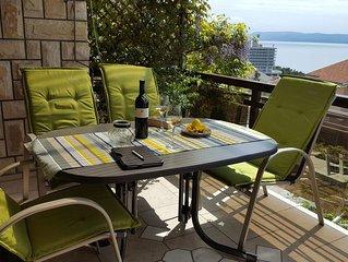 Komf.Fe-Wohnung mit Meerblick, strandnah, familienfreundlich, kostenloser WLAN