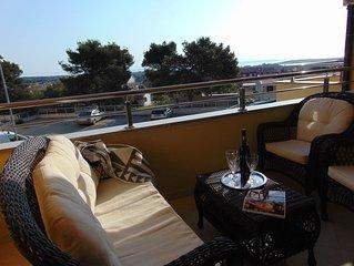 Ferienwohnung Savic Liznjan mit Meerblick für 1-6 Personen