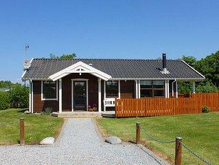 Stilvolles und kinderfreundliches Ferienhaus in Bork Havn am Ringkøbing Fjord