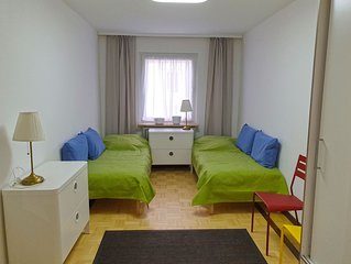 Gemutliches Luxus-Apartment im Herzen Frankfurts Nahe Zentrum, Main und Mess
