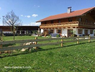 Ferienwohnung Mehringer am Stadtrand Miesbach - ideale Ausgangslage fur Ausfluge