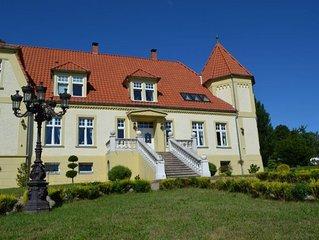 Gutshaus Wohlenhagen - Fewo 4: Max. 4 Personen (45 m2) Turmzimmer