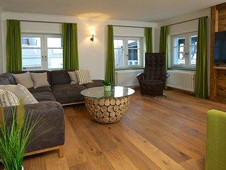 Oberstaufen Ortsmitte: TOP-Chalet 'Imberg' mit Hotelanbindung/O-Plus-Karte