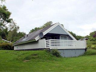 Gemütliches Ferienhaus mit Sauna und Waschmaschine im idyllischen Südostjütland